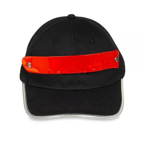 Kepure su LED apsvietimu raudona 1