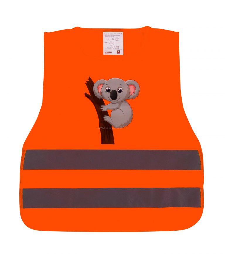 uu203 Koala oranzine priekis